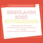 Regulamin Pucharu Polski MTB XCO 2020 (aktualizacja z dn. 01.07.2020)